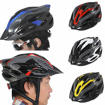 Mountain Bike Road Helmet Adjustable Mens Womens Adult Sports Cycling Bicycle UK • 9.30£