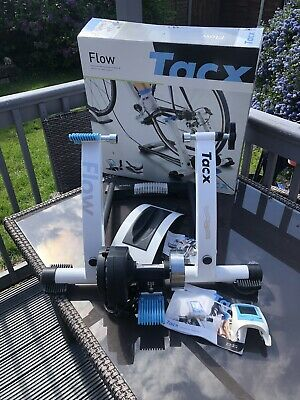 Tacx Flow T2200 Turbo Trainer With Extras. • 92£