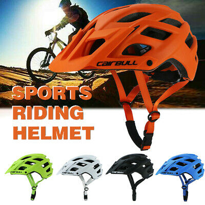 Cycling Safety Helmet Road Mountain Bike Sports Adjustable Breathable Helmet NEW • 25.89£