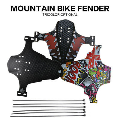 MTB Bike Bicycle Cycling Mudguard Front Fender Protective Guard Accessories • 2.98£