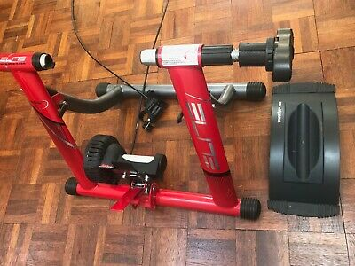Elite Magnetic Speed Turbo Bike Trainer: Good Condition • 59£