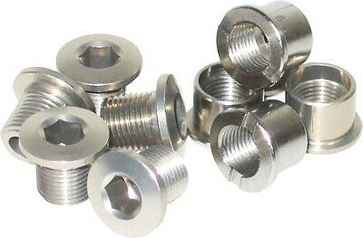 Stainless Steel Single Chainring Bolts MTB Bicycle Bike 6.5mm Chain Ring Bolt • 11.99£