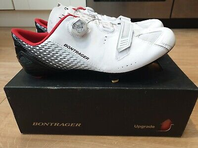 Bontrager Specter Road Cycling Shoes White Boa Dial Size 12 Eur 46  • 39£