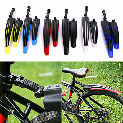 1 Pair Bicycle Cycling Front / Rear Mud Guards Mud Mountain Bike Tire Fenders • 4.59£