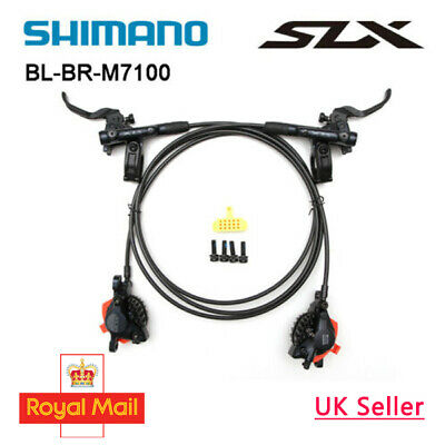 SHIMANO SLX BR-BL-M7100 Bike MTB Hydraulic Disc Brake Set F&R (OE) • 143.99£