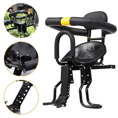 Safety Stable Baby Child Kid Bicycle Bike Front Seat Chair Carrier W/foot Pedals • 61.99£