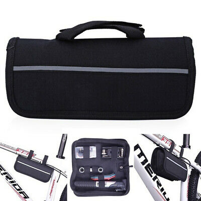 Bicycle Bike Repair Kit With Mini Pump Screwdriver Tools Cycle Puncture Set UK • 12.95£