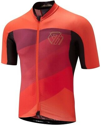 Madison 77 Road Race Premio Short Sleeve Mens Cycling Jersey - Red • 40.49£
