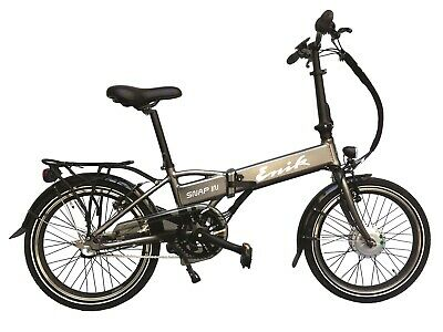 20  Electric Bike Folding E-Bike 36V Battery Electrically Assisted Bicycle 250W • 789£