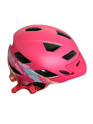 Bell Sidetrack Youth Unisex 50-57 Gnarly Matte Berry Bike Cycle Safety Helmet • 26.90£