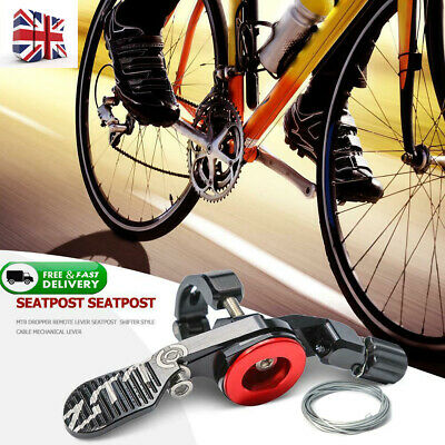 ZTTO MTB Dropper Remote Lever Seatpost Shifter Style Cable Mechanical Lever UK • 23.99£