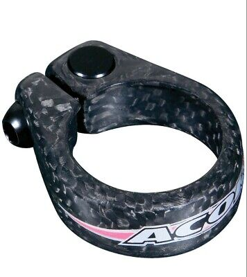 Acor Loc Jaw Carbon Fibre Cycle Seat Post Clamp 31.8mm  • 9.95£