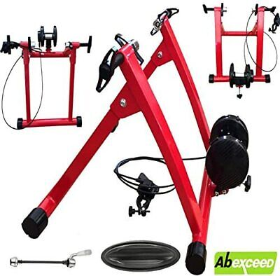 Turbo Trainer Bike Cycle Indoor Magnetic Trainer Adjustable Resistance Fitness • 64.99£