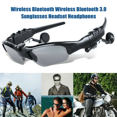 Cycling Glasses Bluetooth Polarized MP3 Phone Bicycle Outdoor Sport Sunglasses • 10.88£