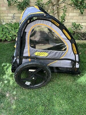Used Instep Bike Trailer For Two Children Double Seater - Good Condition • 45£