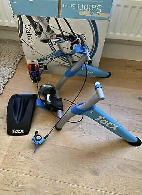 Tacx Satori Smart Turbo Trainer T2400 Excellent Cond Speed & Cadence Ant+ Tyre • 77£