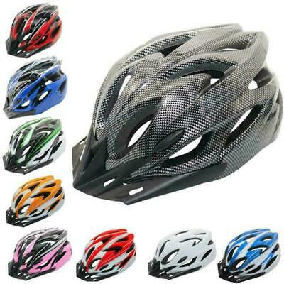 Mountain Bike Road Helmet Adjustable Mens Womens Adult Sport Cycling Bicycle UK • 10.99£