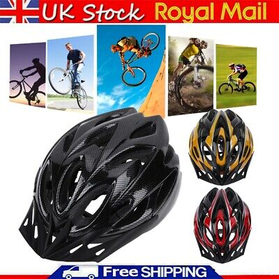 Protective Unisex Adult Road Cycling Safety Helmet MTB Mountain Bike/Bicycle UK • 9.99£