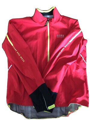 Gore Cycling Jacket - Red XL - Goretex (used, VGC) • 45£