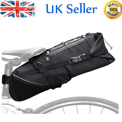 Bicycle Bike Waterproof Storage Saddle Bag Seat Outdoor Cycling Tail Pouch N0V9 • 14.77£