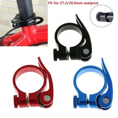 Mountain Bike MTB Seat Post Clamp Bolt Cycling Bicycle Quick Release 31.8mm UK • 3.29£