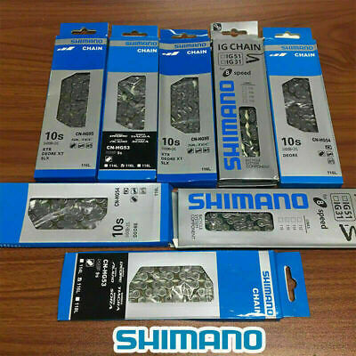 6/7/8/9/10 Speed Bicycle Bike Steel Chain With 116 Links For SHIMANO UK STOCK • 12.59£