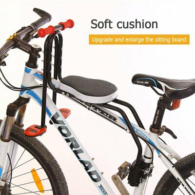 Safety Child Baby Kids Bike Bicycle Seat Front Carrier With Handrail Armrest NEW • 16.99£