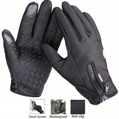 Windproof Anti-Slip Warm Driving Waterproof Gloves Thermal Touch Screen Gloves • 4.90£