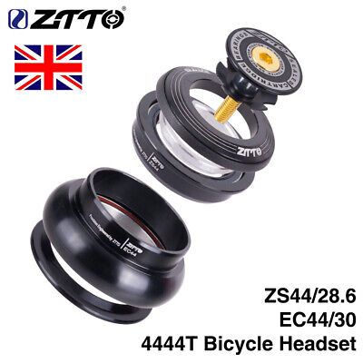 ZTTO MTB Bike Bicycle Headset Straight Tapered Tube Fork Internal Bearing Set • 11.99£