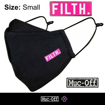 Muc-off - Reusable Face Mask - Filth - Size Small - • 5.99£