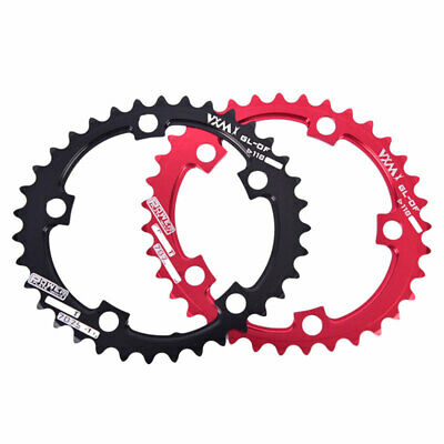 110BCD Narrow Wide Road/CX 1x ChainRing   Double Disc Double Ellipse Power FwPT • 12.13£