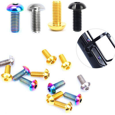 Parts Screws 2Pcs Bottle Cage Cycling Fixing MTB Mountain Bike Outdoor • 6.08£