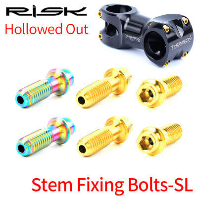 Mountain Road Bike Handlebar Stem Fixing Bolts Bicycle Front Fork Fixed Screws • 10.68£