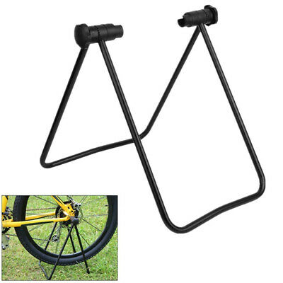 Bike Folding Floor Stand Storage Display Rack Work Repair Bicycle Holder UK New • 6.79£