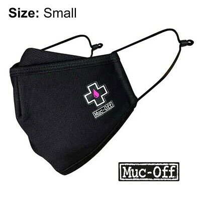 Muc-off - Reusable Face Mask - Black - Size Small - • 5.99£