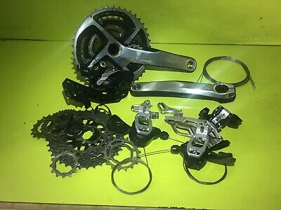 Shimano XTR 10 Speed Groupset M771 • 155£