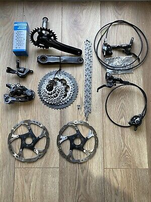 Shimano Deore XT M8000 1x11 Groupset With Brakes 11-46 • 142£