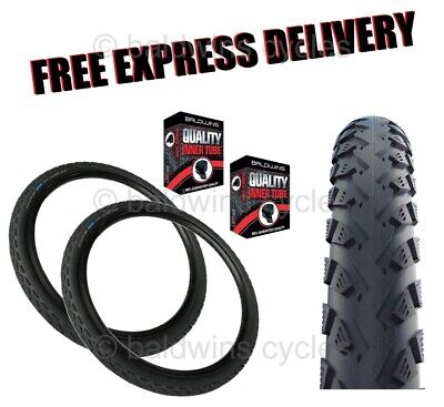 700 X 35c SCHWALBE LAND CRUISER Puncture Protection KNOBLY Hybrid Bike Tyre • 33.99£