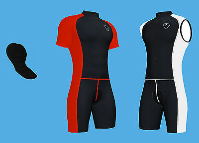 Cycling Skin Suit  Padded High Quality Cycling Suite By Hera International • 19.45£