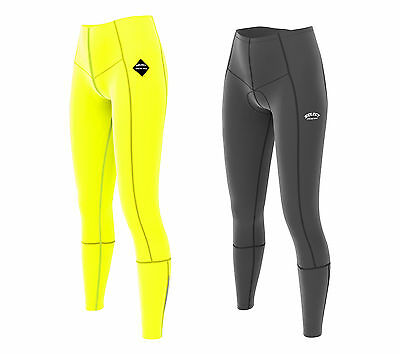 Select Ladies Cycling Tights Padded Compression Leggings Cycle Womens Trousers • 15.99£
