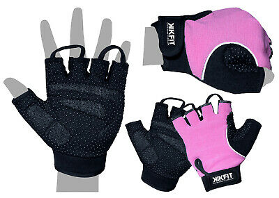 Ladies Cycling Gloves Half Finger Bicycle Gel Padded Fingerless MTB Bike Gym  • 6.99£
