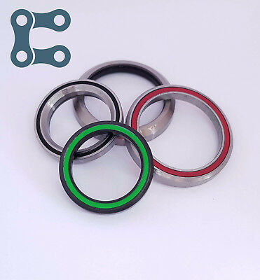 High Quality  Bike Headset Bearings Angular Contact Hope FSA Cane Creek 45 36 • 7.95£