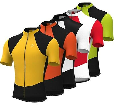Mens Cycling Jersey Half Sleeve Bike/Bicycle Outdoor Top Jersey Short Sleeves • 11.49£