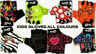 Gloves For Children Kids Girls Boys Cycling Padded Sports Bike Bicycle BMX -TNQ  • 5.99£