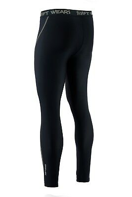 Mens Compression Cycling Tights Cycle Leggings Long Pants Swift Wears • 11.99£