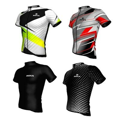 Mens Cycling Jersey Half Sleeve Quality Biking Top Cycle Racing Team By ROXX  • 14.99£