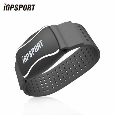 IGPSPORT Running Cycling Smart Arm Heart Rate Monitor ANT+ Bluetooth4.0 Black • 37.98£