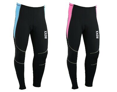 Ladies Cycling Tights Padded Winter Thermal Pants Women Cycle Bicycle Trousers • 17.99£