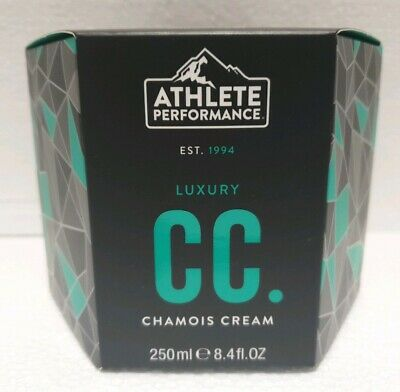 Muc Off Athlete Performance Luxury Cycling Chamois Cream Anti Bacterial - 250ml • 17.75£
