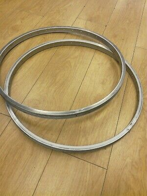 Retro MTB Rims 26 Weinmann Concave Used Pair 36 Hole • 35£